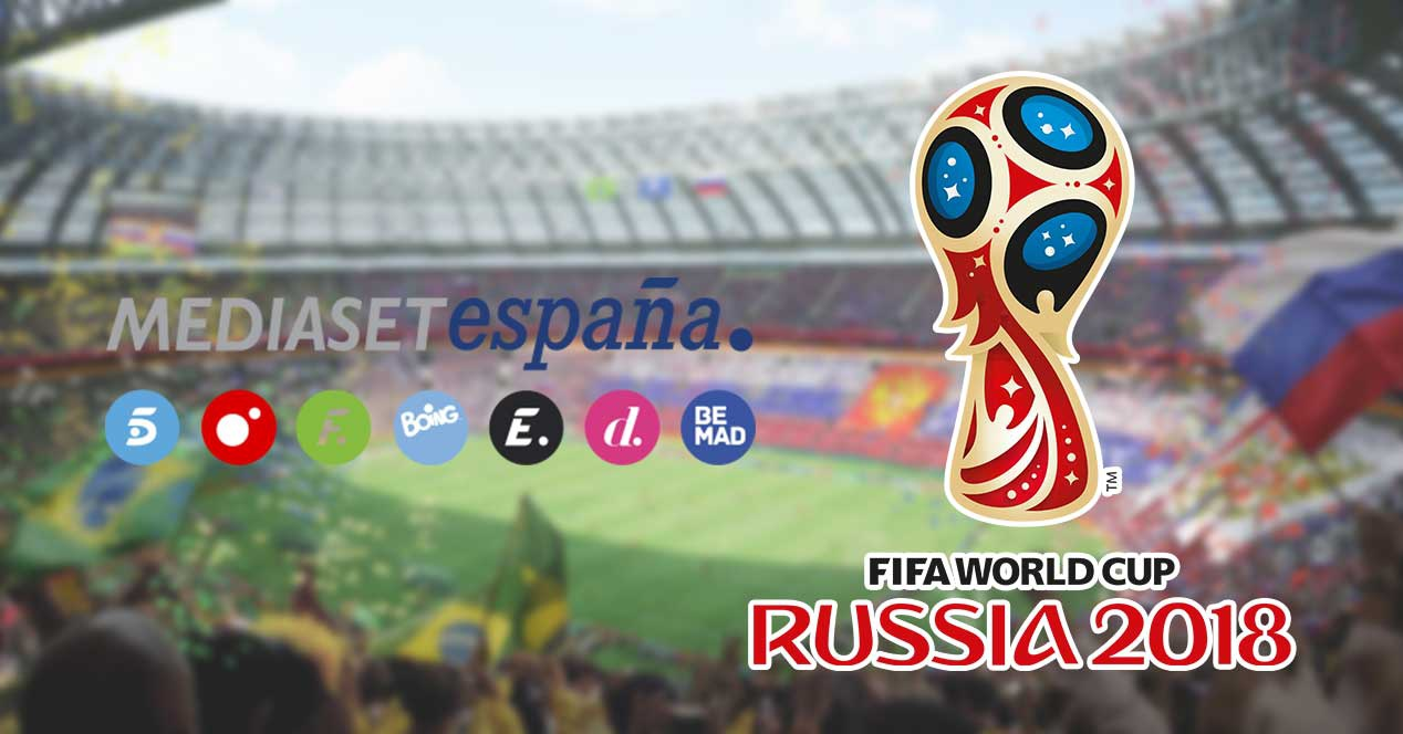 Mediaset offers free-to-air the Russian World Cup 2018